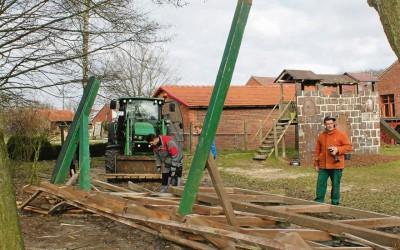 Neugestaltung des Groß Lessener Schulhofes nimmt Formen an