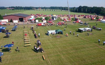 Kreisfeuerwehrtag mit Kreiswettbewerben in Groß Lessen