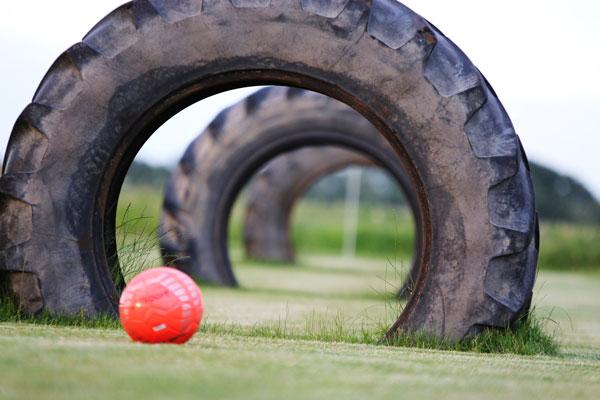 8 Tage bis zur Feier – Der SV Lessen bietet Fußballgolf & Bubble Soccer